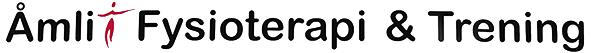 Logo Åmli Fysioterapi og trening